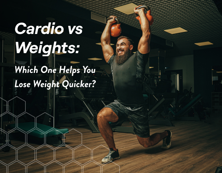 you should prioritize weight training 3-4 times per week for max fat loss results over cardio