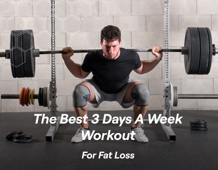 the key points in a 3 day per week workout program for fat loss