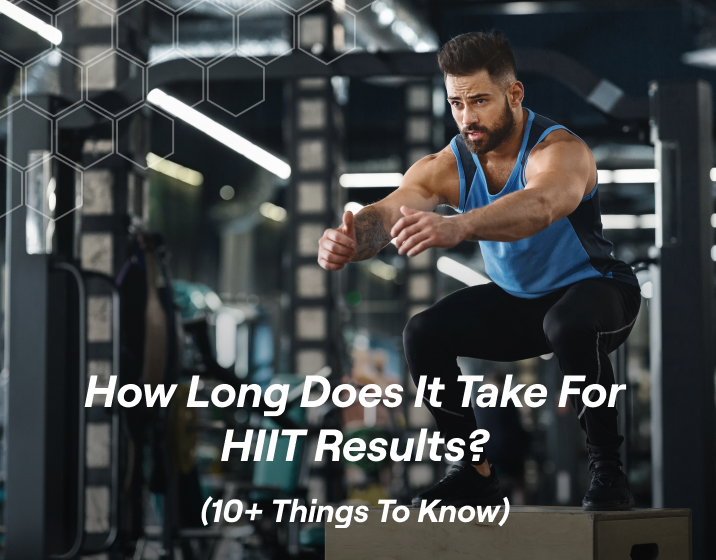 if you are looking to increase cardiovascular fitness and VO2 max, HIIT can offer results in 6-8 weeks